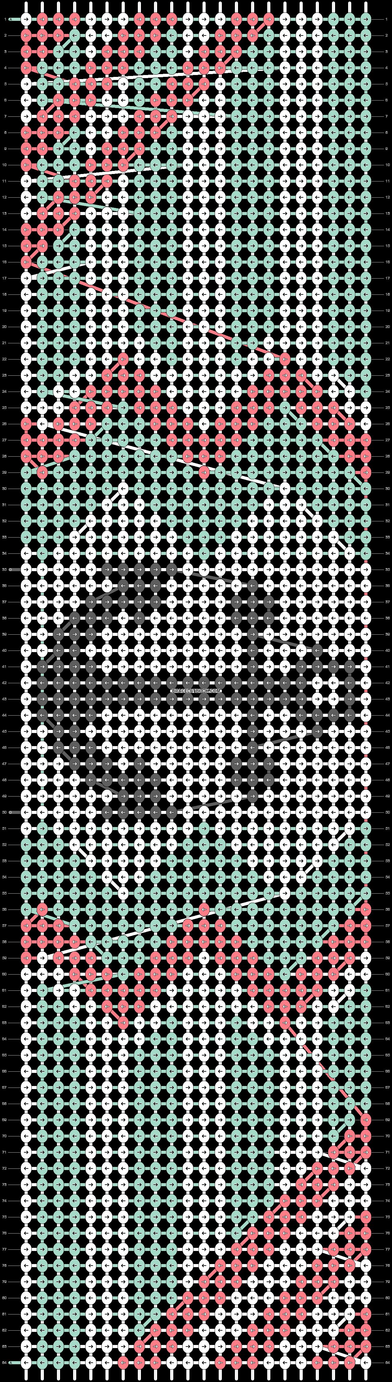 Alpha pattern #11694 pattern