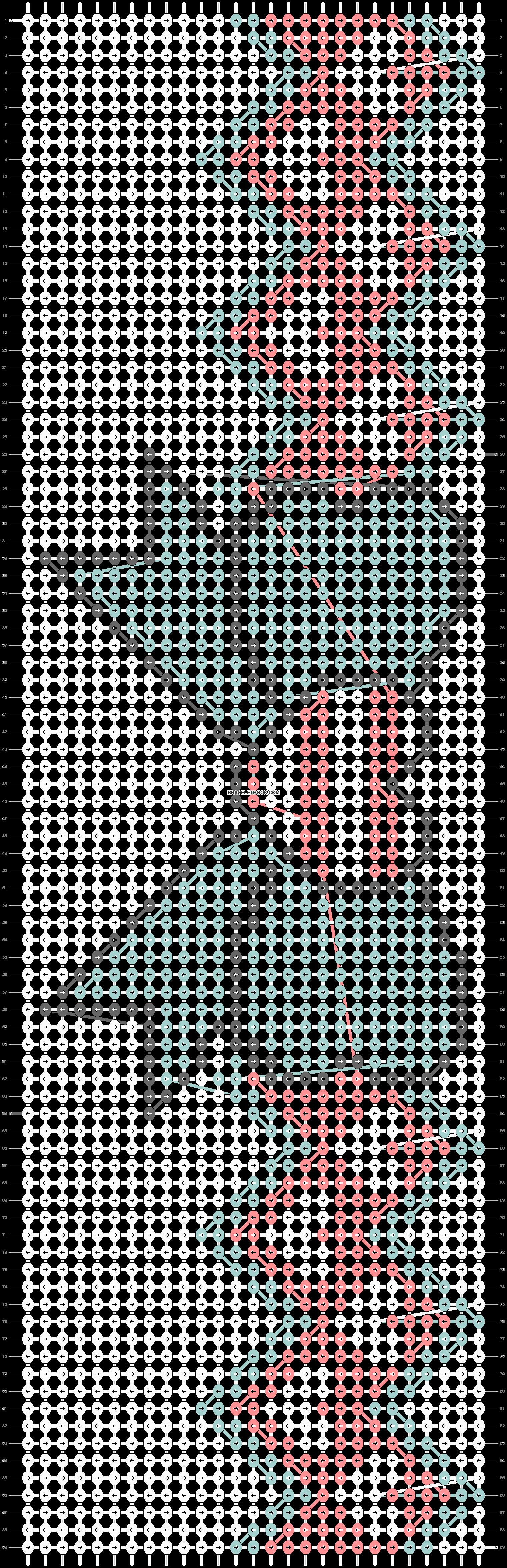Alpha pattern #11698 pattern