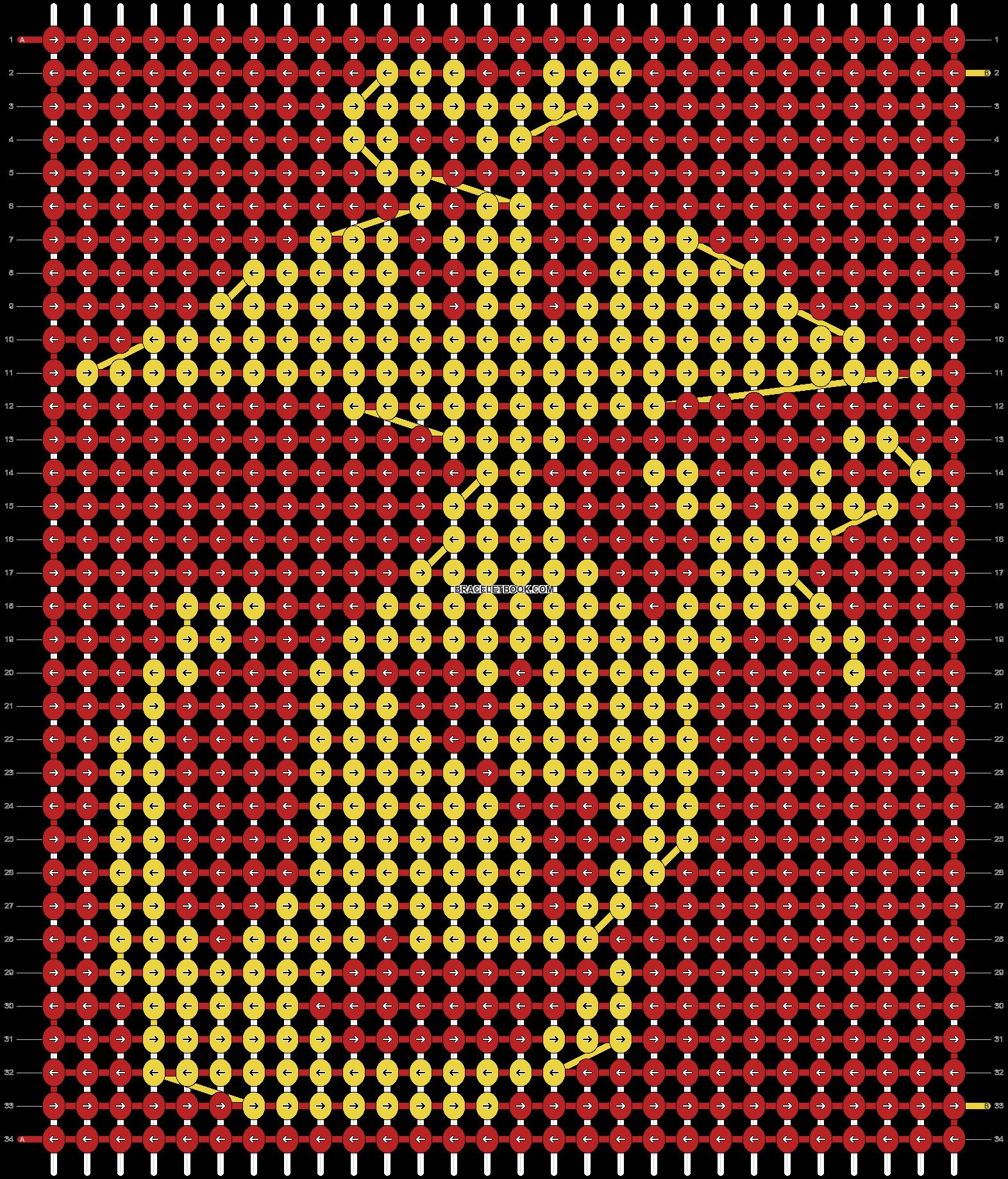 Alpha pattern #11702 pattern