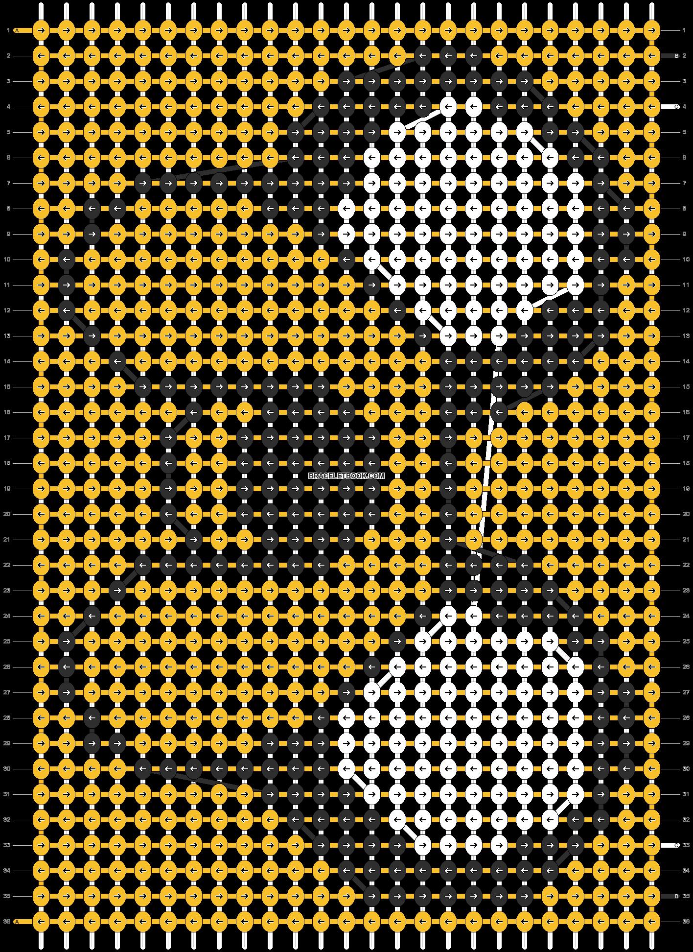 Alpha pattern #11703 pattern
