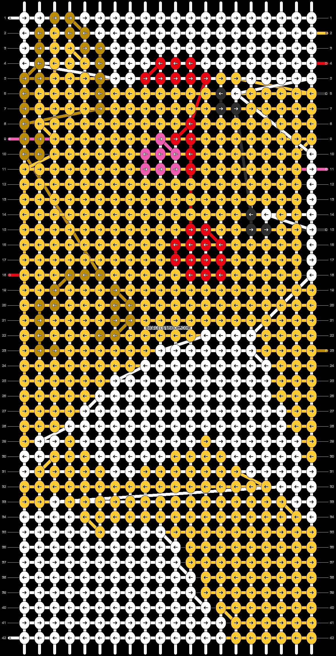 Alpha pattern #11709 pattern