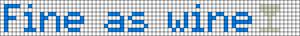 Alpha pattern #11715
