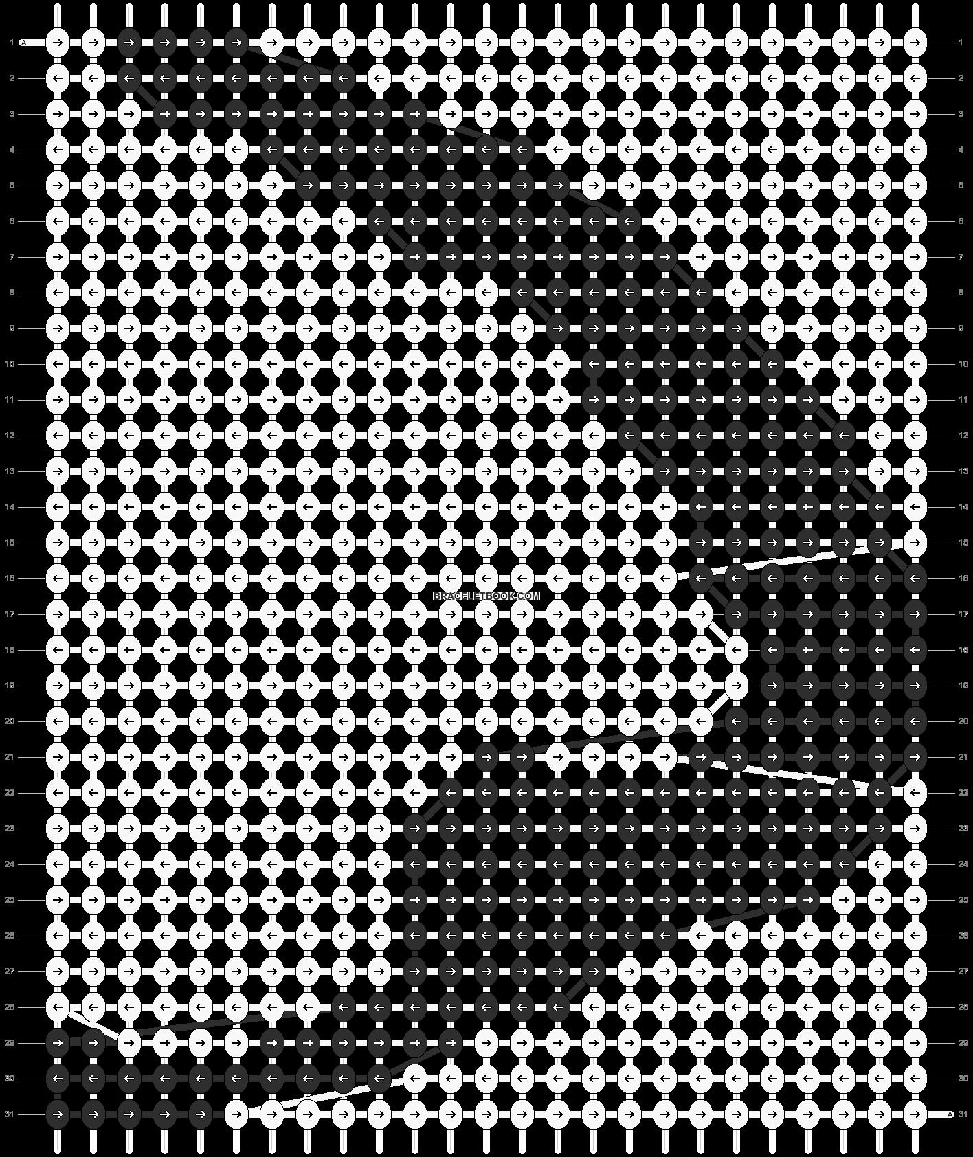 Alpha pattern #11725 pattern