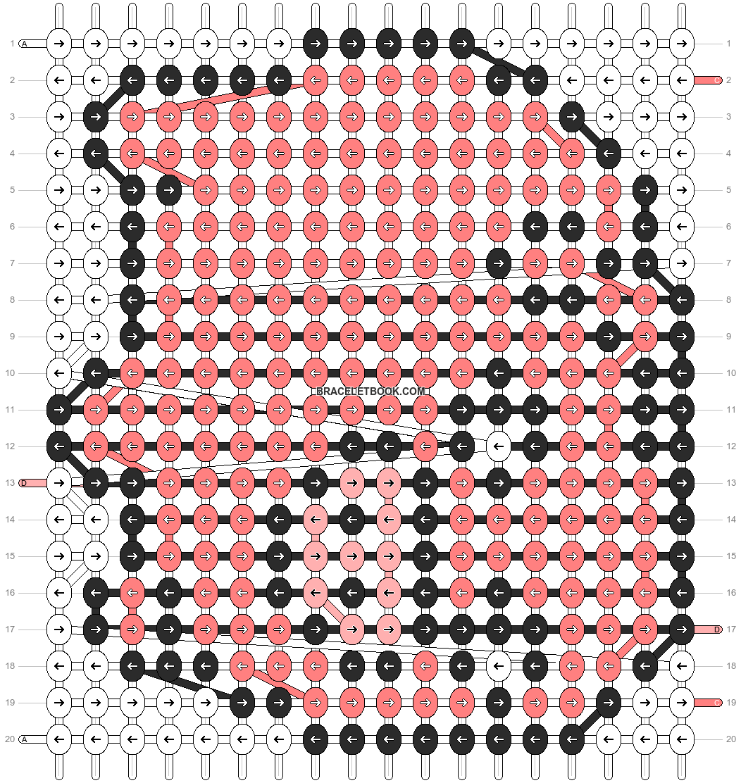 Alpha pattern #11727 pattern