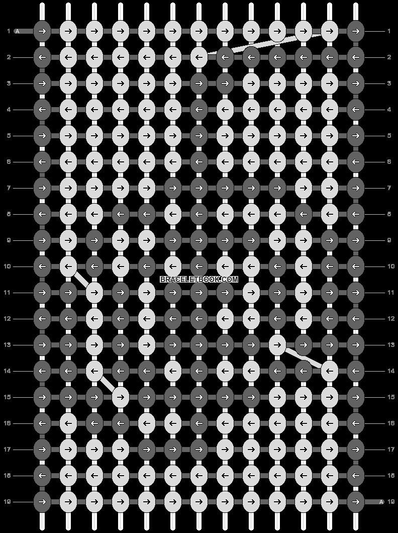 Alpha pattern #11728 pattern