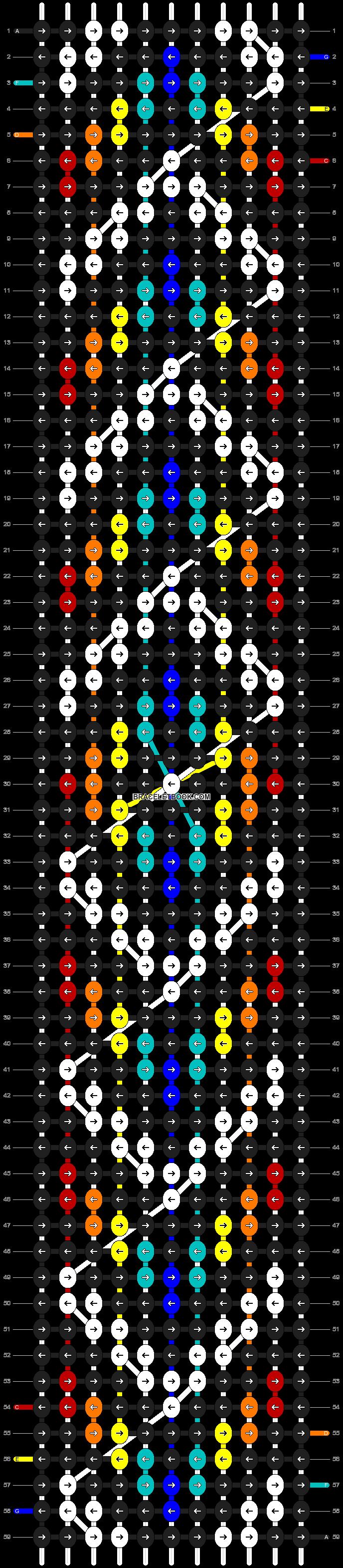 Alpha pattern #11744 pattern