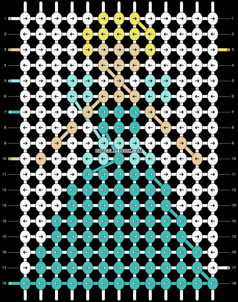 Alpha pattern #11747 pattern