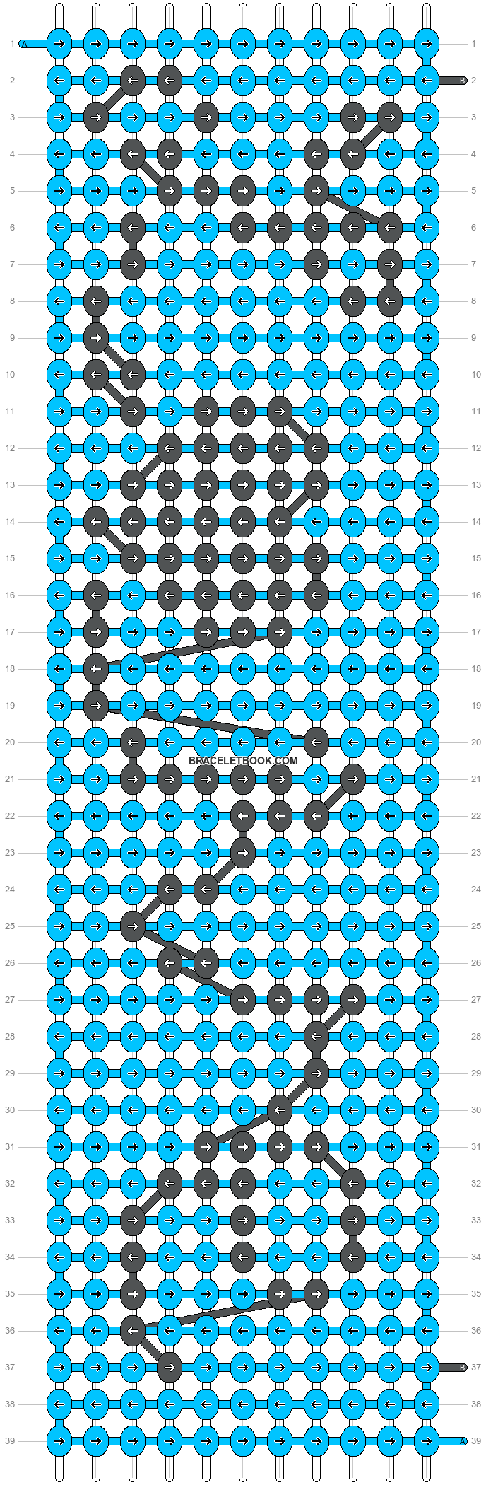 Alpha pattern #11748 pattern