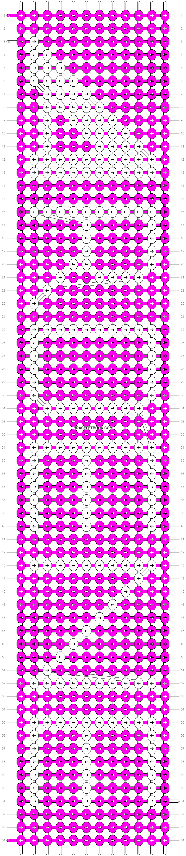 Alpha pattern #11750 pattern