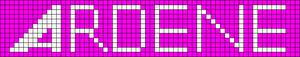 Alpha pattern #11750