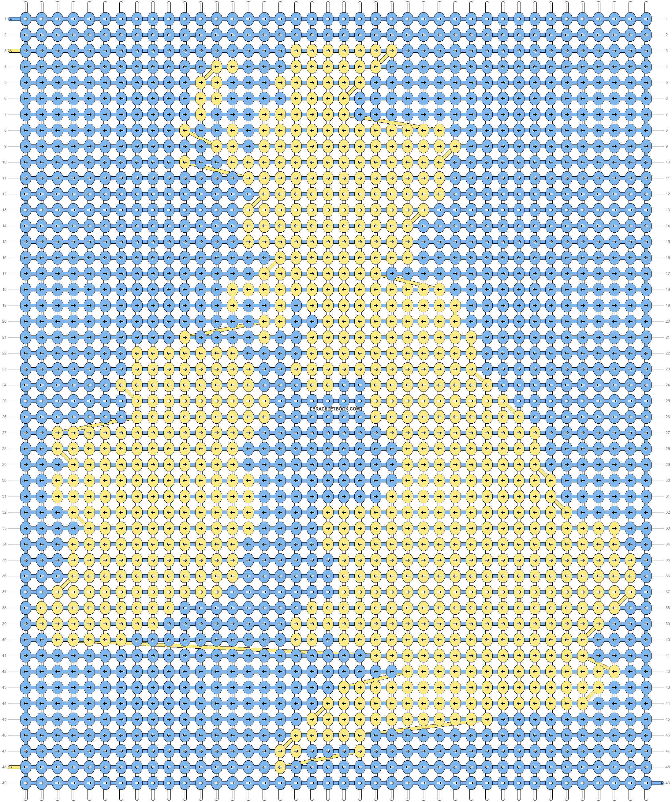 Alpha pattern #11753 pattern