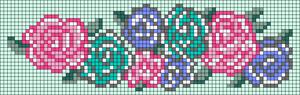 Alpha Friendship Bracelet Pattern #11765