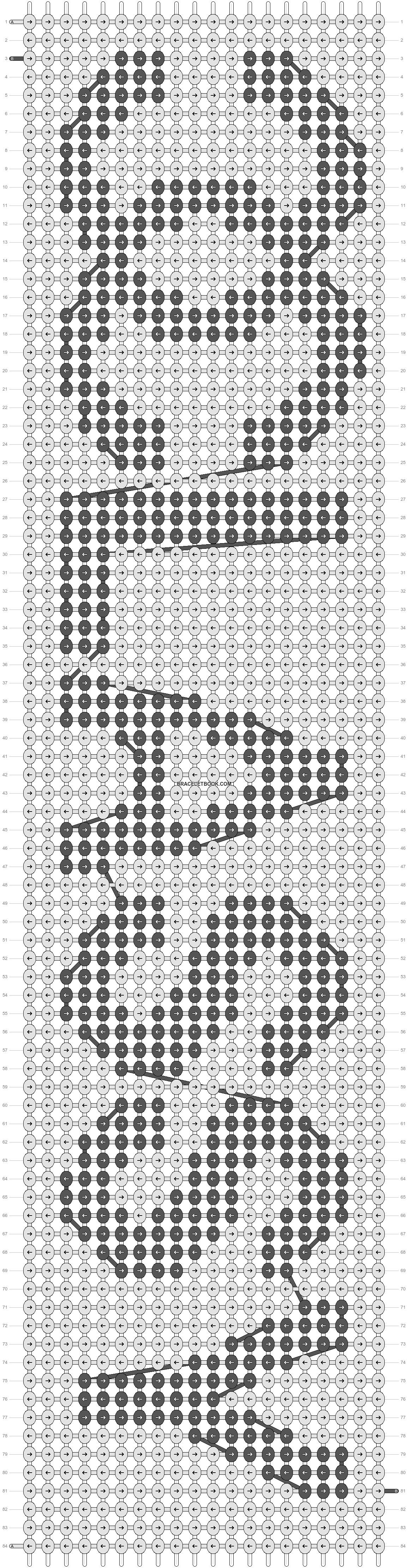 Alpha pattern #11769 pattern