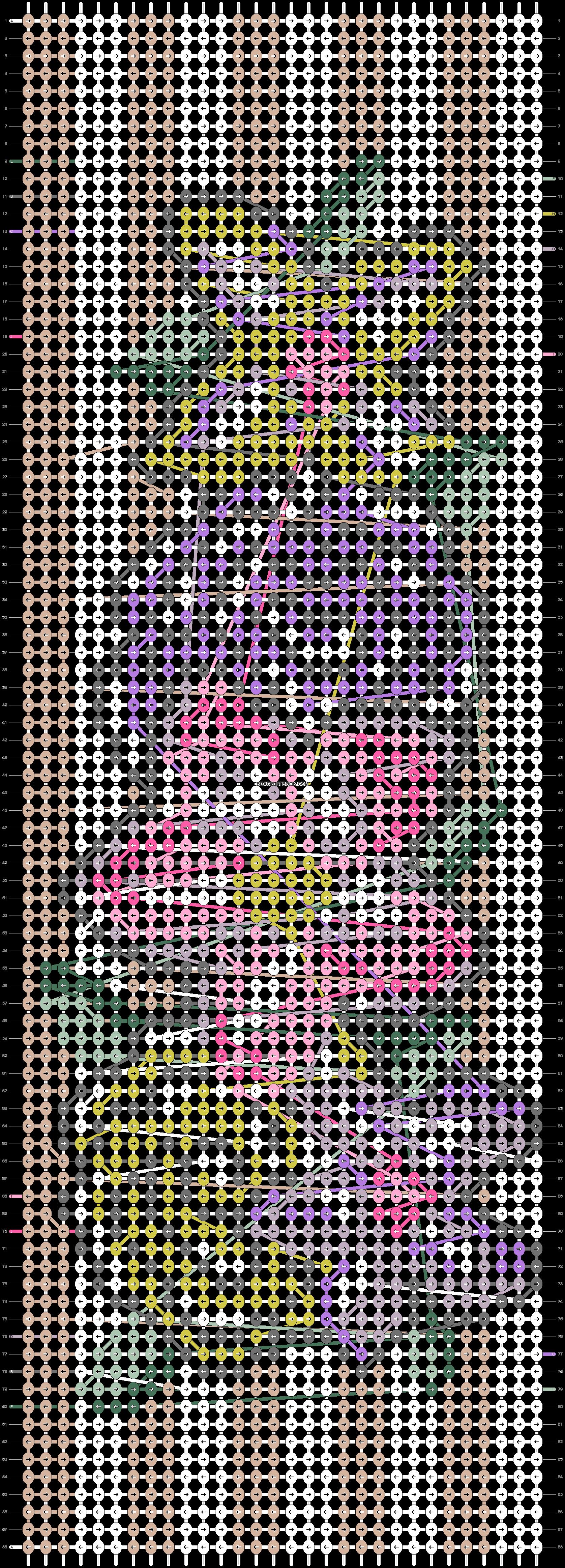 Alpha pattern #11775 pattern