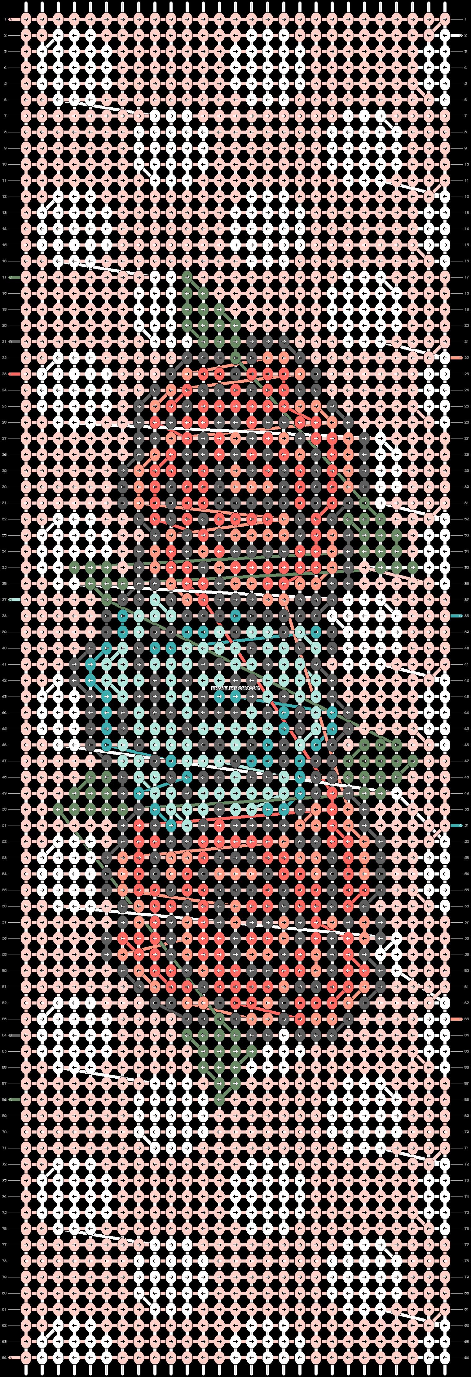 Alpha pattern #11776 pattern