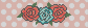 Alpha Friendship Bracelet Pattern #11776