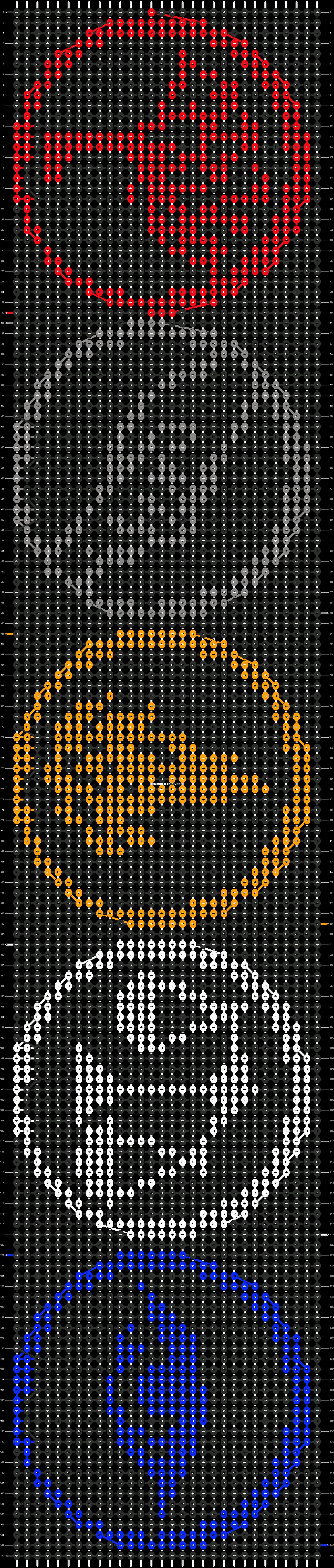 Alpha pattern #11787 pattern