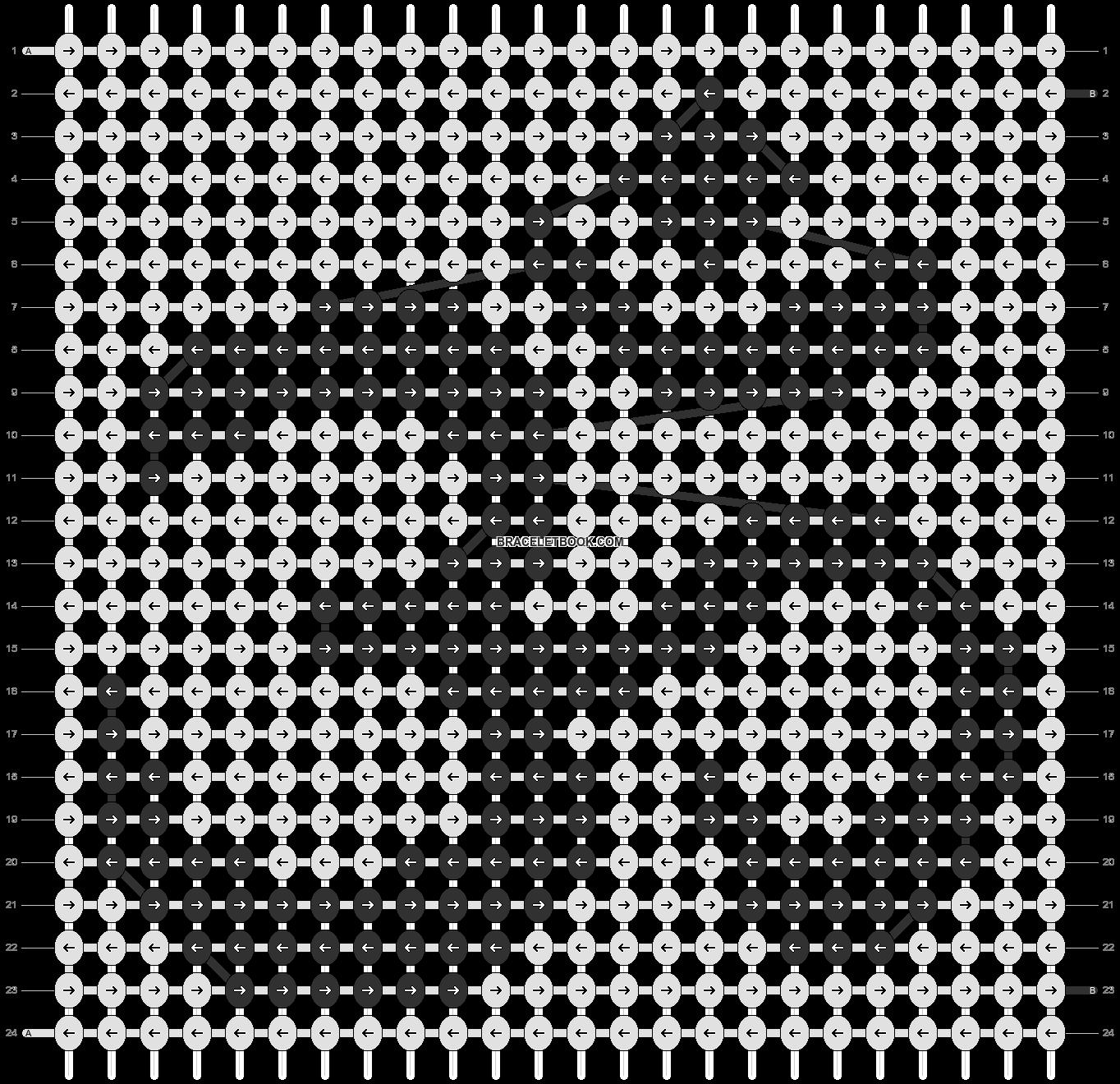 Alpha pattern #11797 pattern