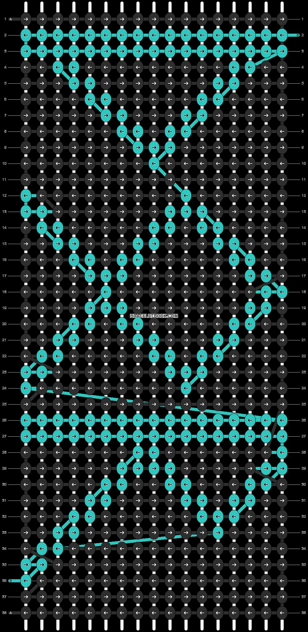 Alpha pattern #11799 pattern