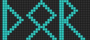 Alpha pattern #11799