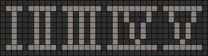 Alpha Friendship Bracelet Pattern #11803