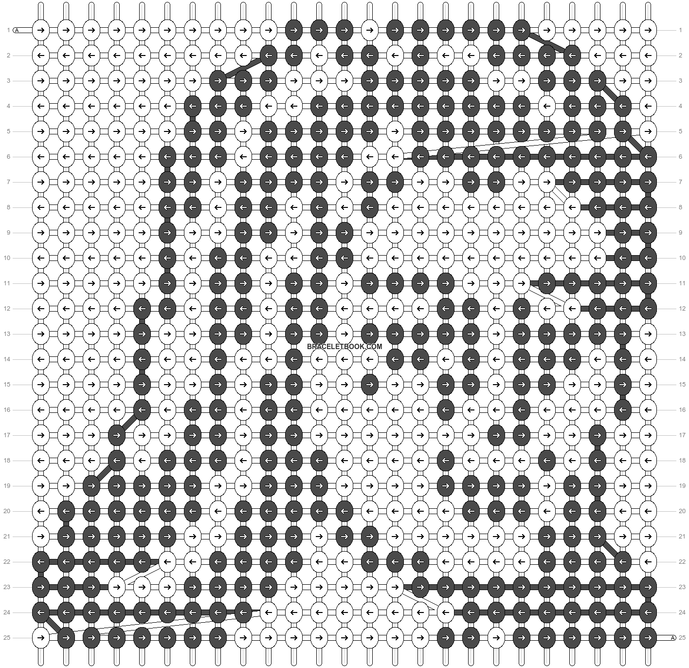 Alpha pattern #11806 pattern