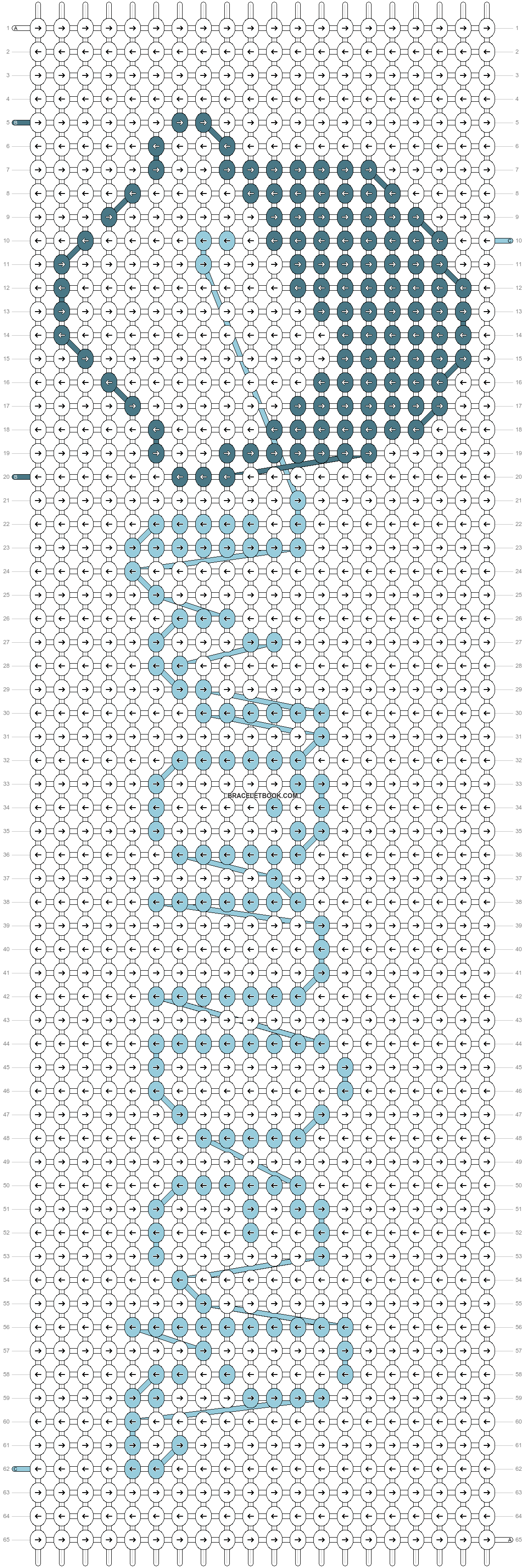 Alpha pattern #11818 pattern