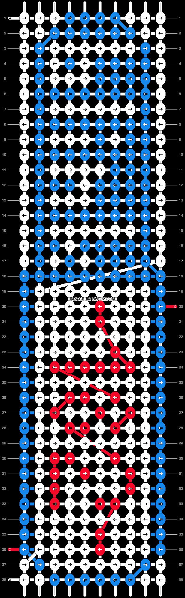 Alpha pattern #11819 pattern