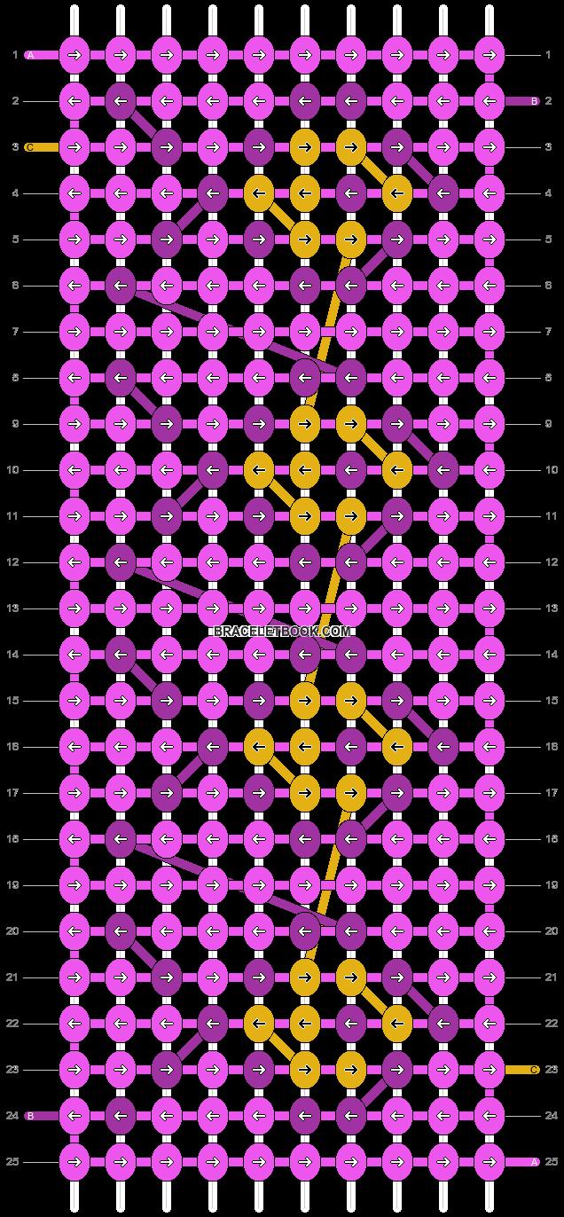 Alpha pattern #11824 pattern