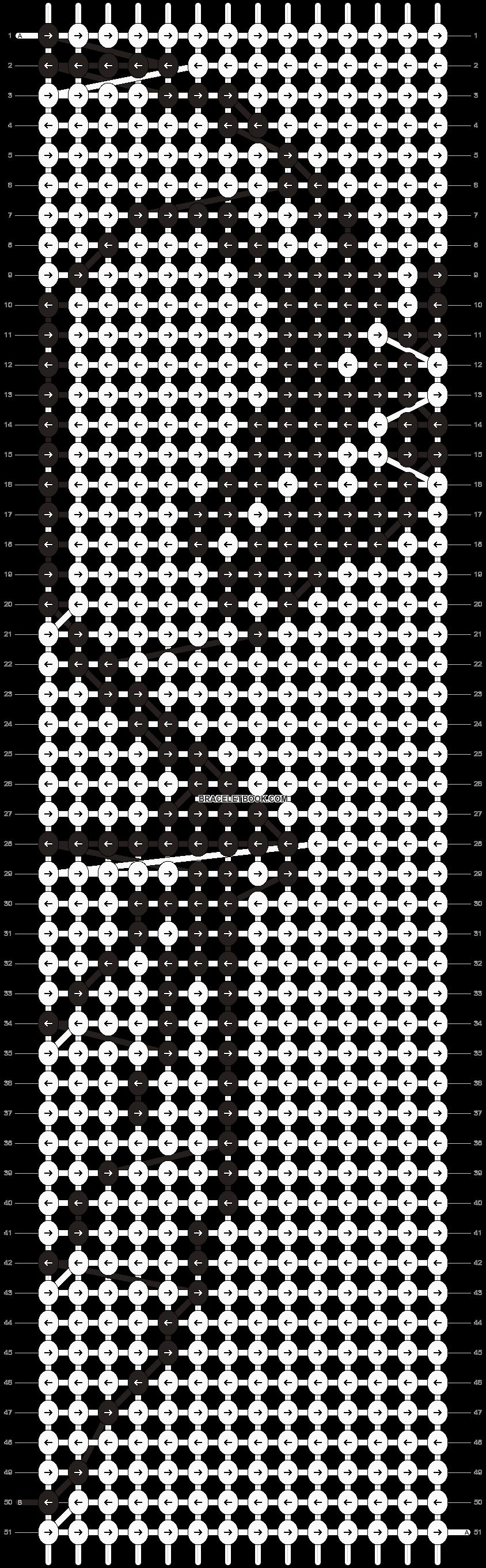 Alpha pattern #11827 pattern