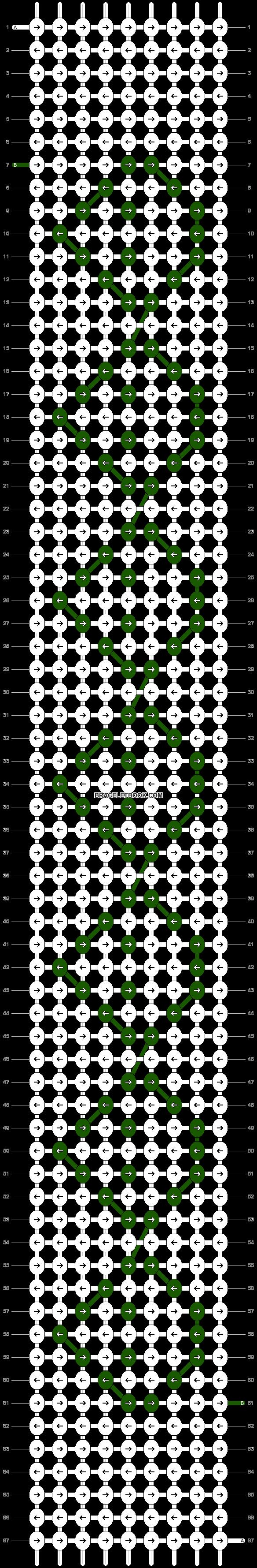 Alpha pattern #11833 pattern