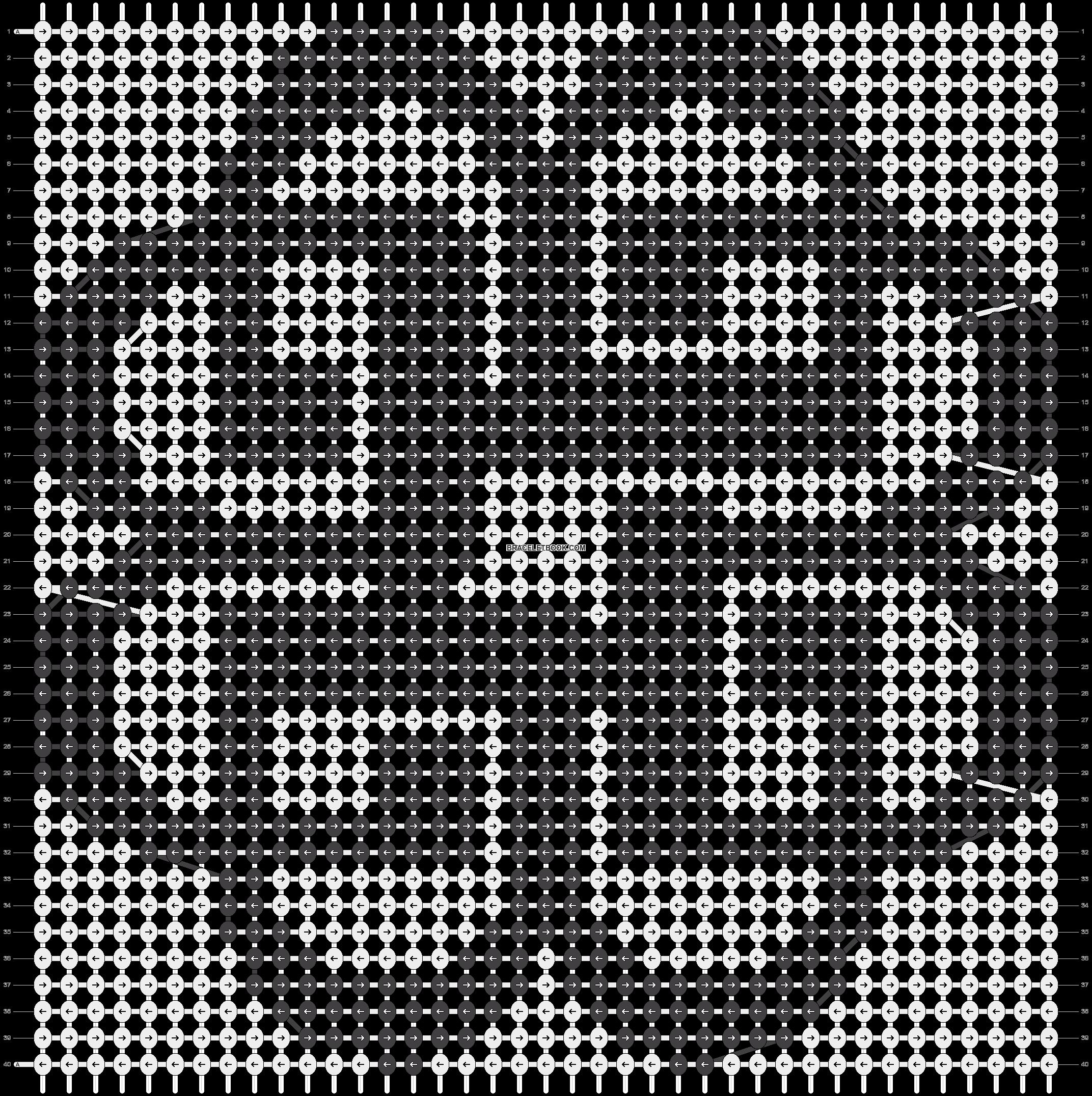 Alpha pattern #11834 pattern