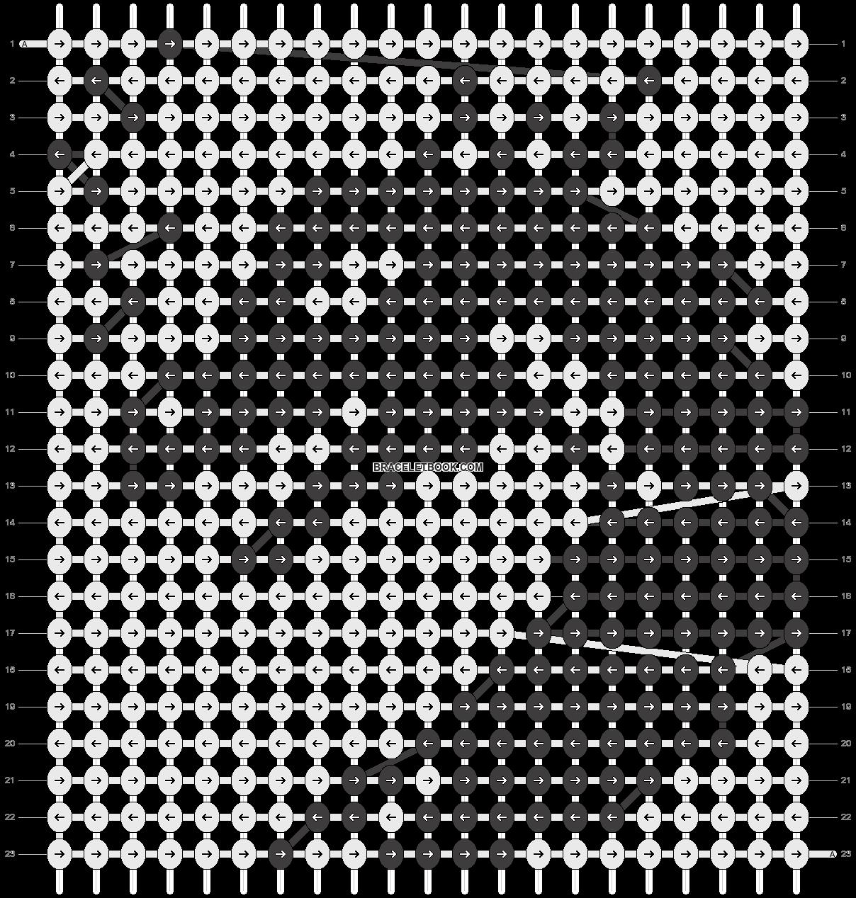 Alpha pattern #11836 pattern