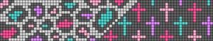 Alpha Friendship Bracelet Pattern #11839