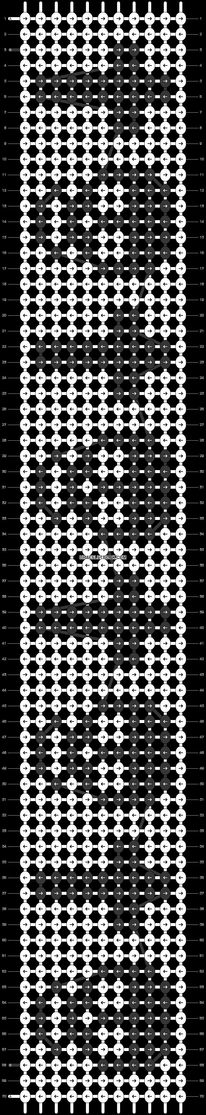 Alpha pattern #11841 pattern