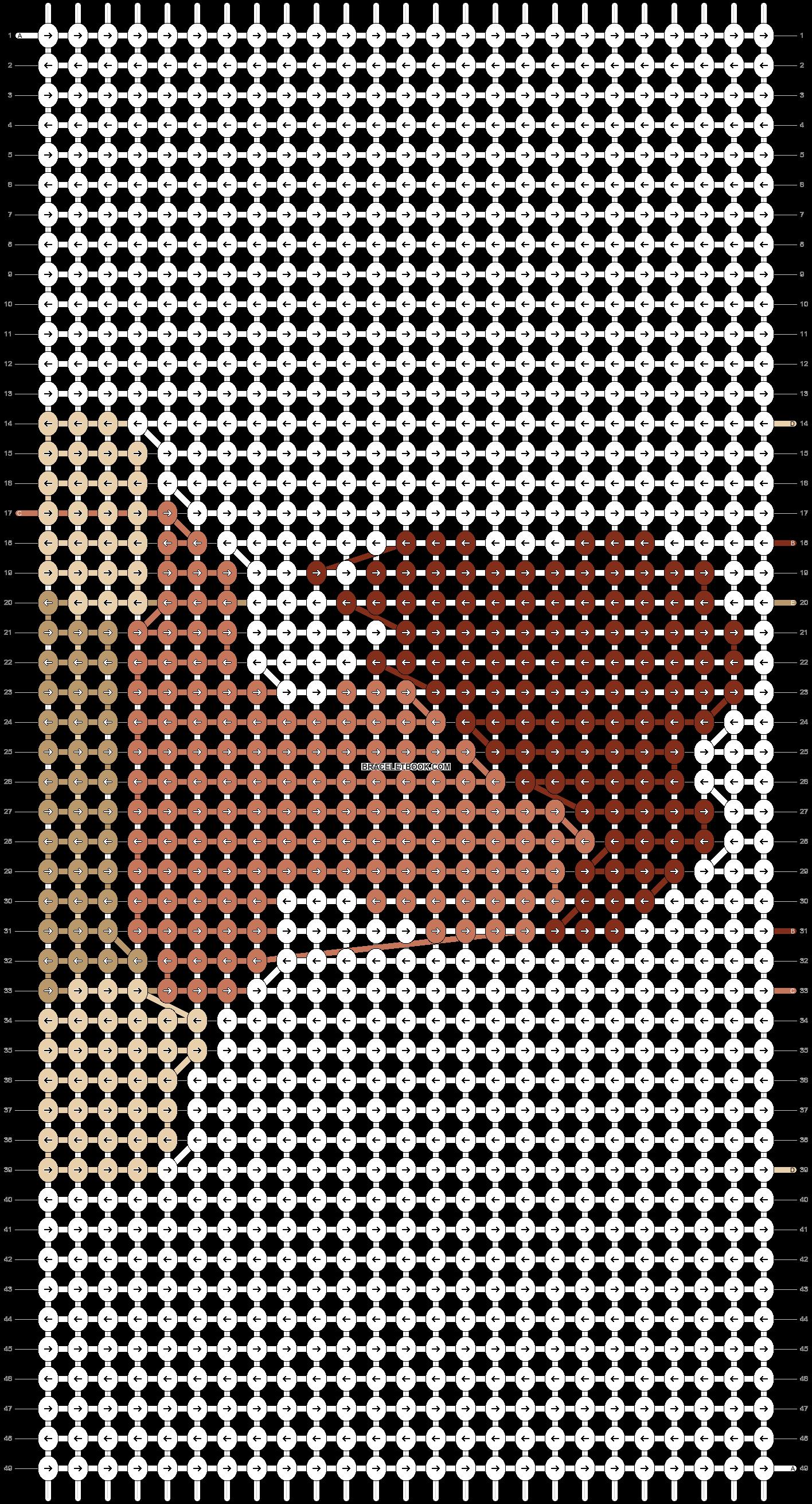 Alpha pattern #11845 pattern