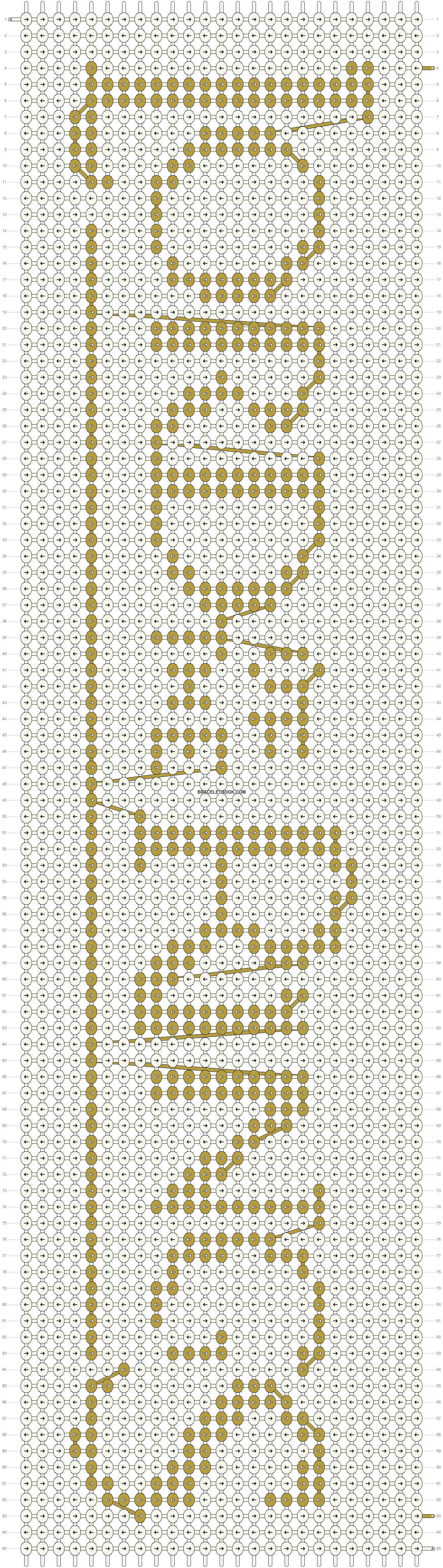 Alpha pattern #11849 pattern