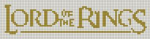 Alpha Friendship Bracelet Pattern #11849