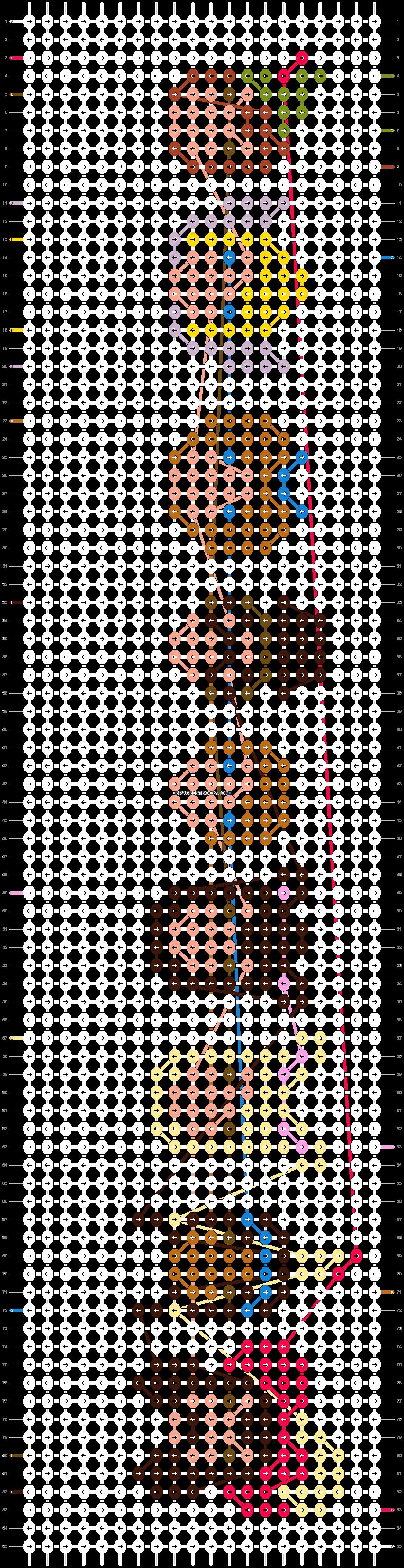 Alpha pattern #11851 pattern