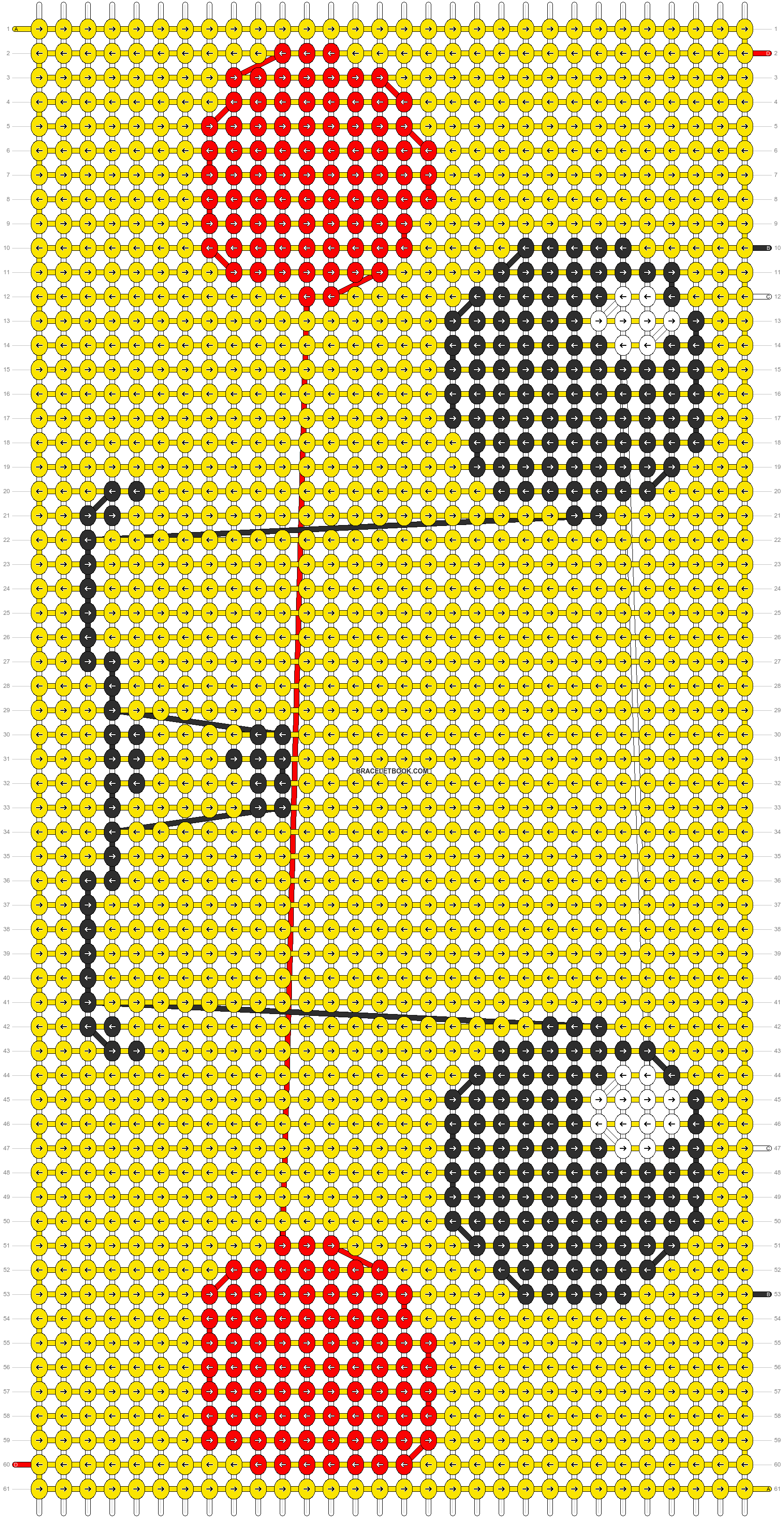 Alpha pattern #11852 pattern