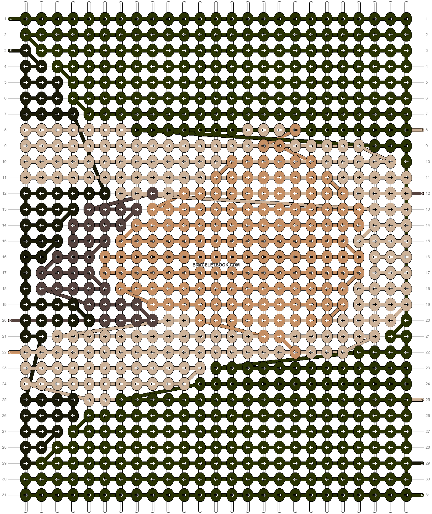 Alpha pattern #11853 pattern