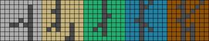 Alpha pattern #11854