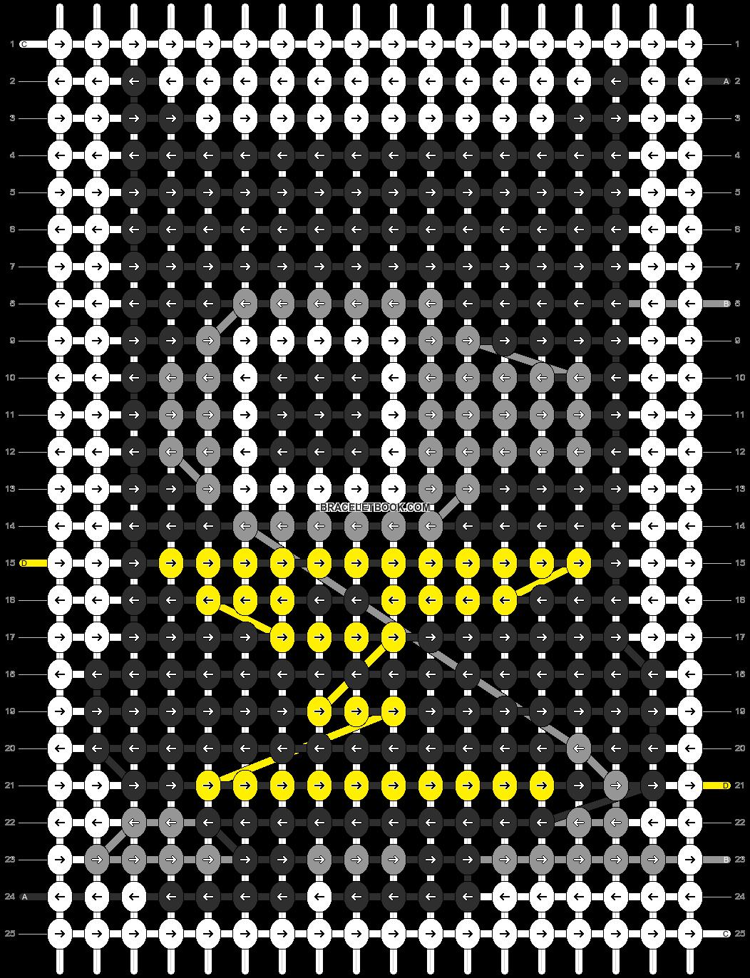 Alpha pattern #11858 pattern