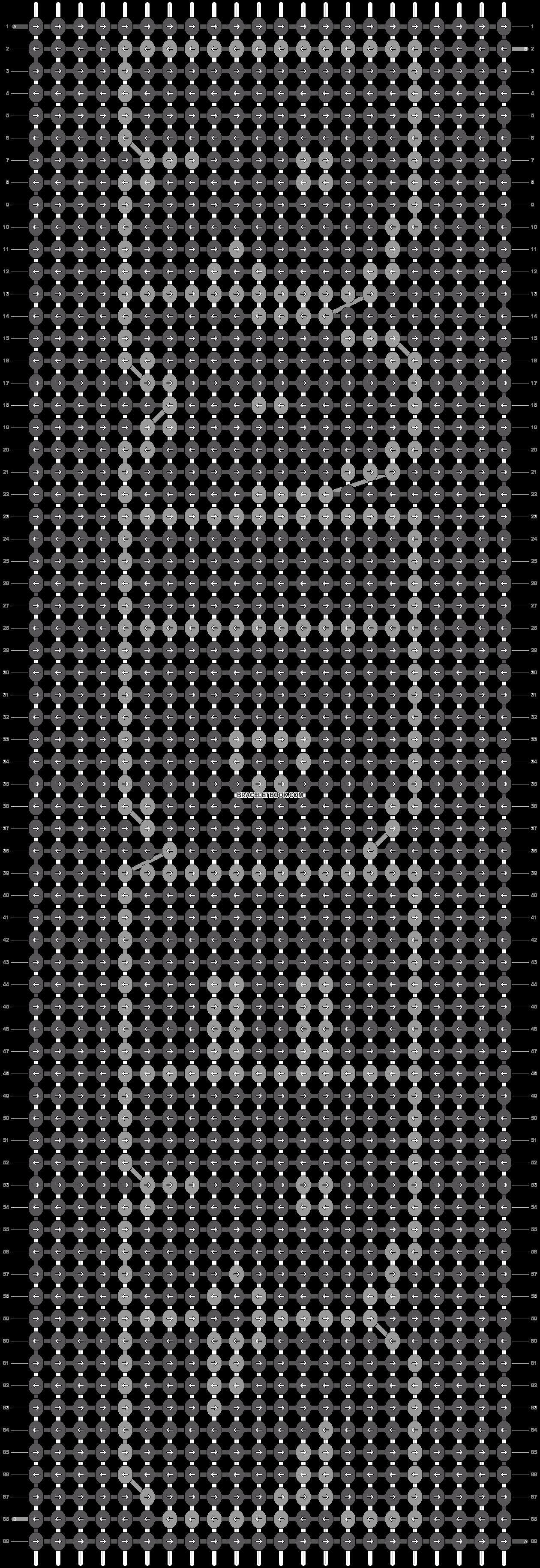Alpha pattern #11863 pattern