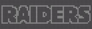 Alpha Friendship Bracelet Pattern #11863