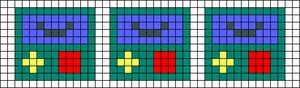 Alpha pattern #11867