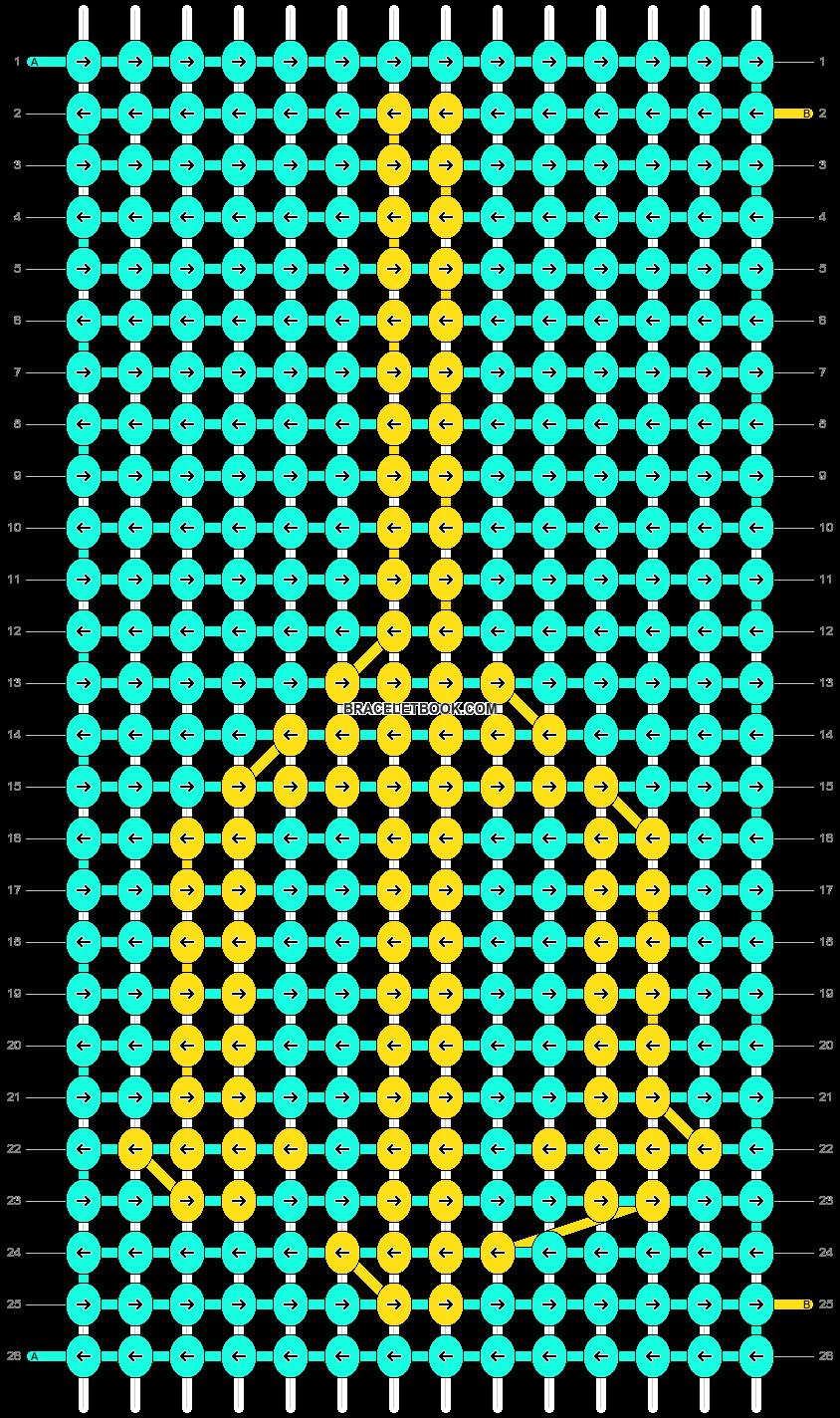 Alpha pattern #11871 pattern