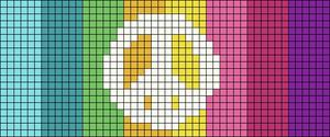 Alpha pattern #11875