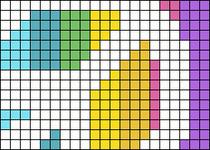 Alpha pattern #11876
