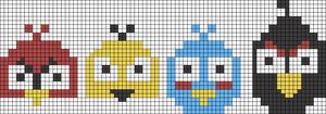 Alpha Friendship Bracelet Pattern #11878